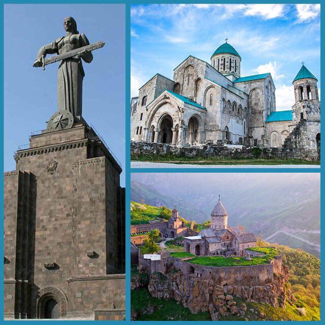 تور ترکیبی گرجستان و ارمنستان